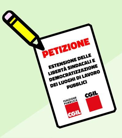 Petizione liberta sindacale